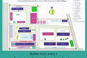 ผังอาคารสอบ HCEC สำหรับคณะครู